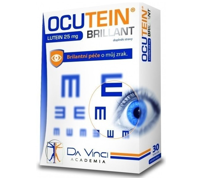 Recenze Simply You OCUTEIN Brillant Lutein 25 mg DaVinci
