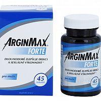 ArginMax Forte pro muže - recenze, cena, zkušenosti, složení