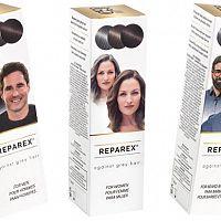 Reparex – recenze a zkušenosti s přípravkem proti šedivění z lékárny
