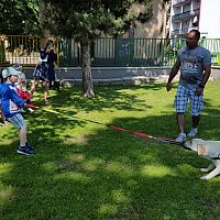 Miroslav Majláth: Při canisterapii nepracuje pes samostatně, se svým psovodem tvoří neoddělitelný tým