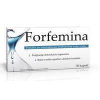 Forfemina – recenze přípravku na odvodnění organismu