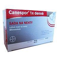 Canespor – recenze sady na nehty k léčbě mykózy. Roztok i krém funguje