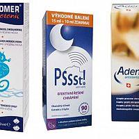Nejlepší přípravky proti chrápání z lékárny