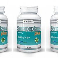 Kompava Serrapeptase Plus - recenze na enzymy proti zánětům