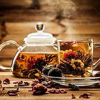 Kvetoucí čaj v dárkovém balení + video