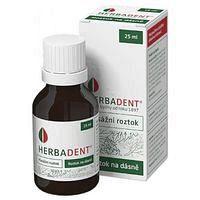 Herbadent masážní roztok 25 ml