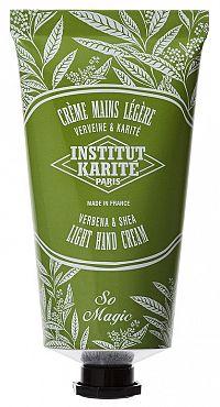 Institut Karite Light Shea hand cream Lehký krém na ruce s vůní verbeny, 75 ml