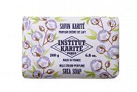 Institut Karité Milk Cream, mýdlo s bambuckým máslem s mléčnou vůní, 200 g