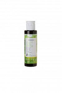 KORRES Basil Lemon - sprchový gel s bazalkou a citronem, 40 ml (cestovní balení)