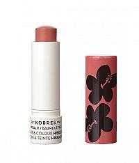 KORRES Care & Colour lip balm stick - barevný balzám na rty, ibišek, 5 ml