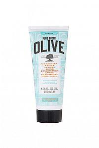 KORRES Conditioner Olive Shine - kondicionér pro normální vlasy, 200 ml