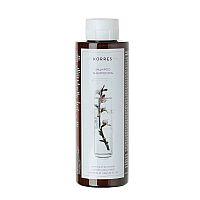 KORRES Hair - šampon pro suché a poškozené vlasy, mandle a lněné semínko, 250 ml