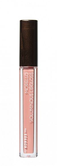 KORRES Morello Voluminous Lip Gloss - lesk na rty, 04 Honey Nude, 4 ml