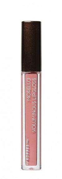 KORRES Morello Voluminous Lip Gloss - lesk na rty, 23 Natural Purple, 4 ml