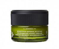 KORRES Olive Moisturising Night Cream, 40 ml - noční krém pro všechny druhy pleti, 40 ml