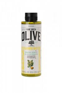 KORRES Pure Greek Olive, sprchový gel s vůní bergamotu, 250 ml