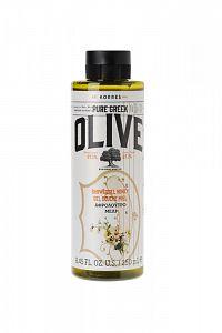 KORRES Pure Greek Olive, sprchový gel s vůní medu, 250 ml