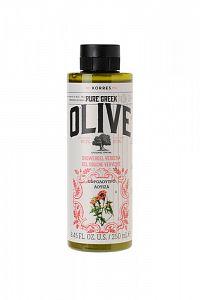 KORRES Pure Greek Olive, sprchový gel s vůní verbeny, 250 ml