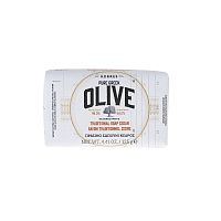 KORRES Pure Greek Olive tuhé mýdlo s vůní cedrového dřeva, 125 g