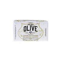 KORRES Pure Greek Olive tuhé mýdlo s vůní olivového květu, 125 g