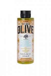 KORRES Shampoo Olive Nourishing - šampon pro suché a poškozené vlasy, 250 ml