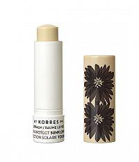 KORRES Sunflower Sun Protect Lip Balm - slunečnicový balzám na rty v tyčince s ochranou proti slunci, 5 ml