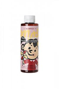 KORRES WASH ME BERRIES - šampon a sprchový gel 2v1 pro dívky, 250 ml