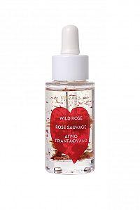 KORRES Wild Rose 5% Vitamin C Brightening Face Oil rozjasňující a vyživující pleťový olej, 30 ml