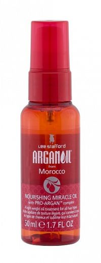 Lee Stafford Argan Oil Nourishing Miracle Oil, vyživující arganový olej na vlasy, 50 ml