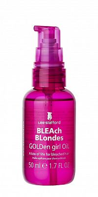 Lee Stafford Bleach Blondes Golden Girl Oil, olej pro blond vlasy, 50 ml