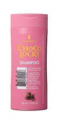 Lee Stafford Choco Locks šampon s vůní čokolády, 250 ml