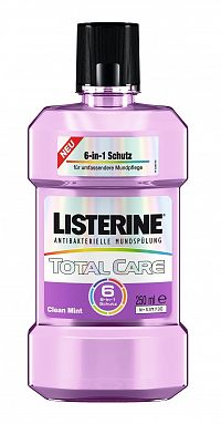 Listerine Total Care 6v1 ústní voda, 250 ml