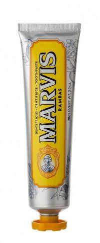 MARVIS RAMBAS zubní pasta bez fluoridů, 75 ml