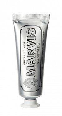 MARVIS Whitening Mint bělicí pasta bez fluoridů, cestovní balení, 25 ml
