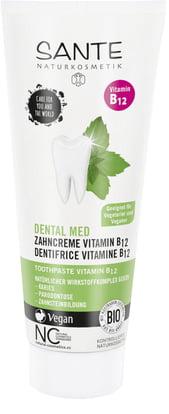 Sante Vitamin B12 zubní krém pro vegany a vegetariány, 75 ml