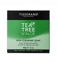 Tisserand hluboce čisticí tuhé mýdlo s tea tree a aloe vera, 100 g