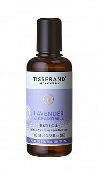 Tisserand Lavender luxusní relaxační koupelový olej s levandulí a heřmánkem, 100 ml