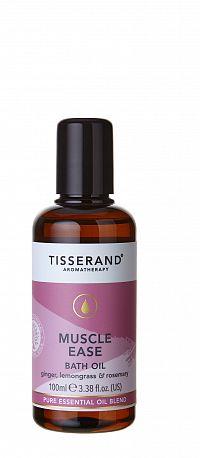 Tisserand Muscle Ease luxusní koupelový olej na uvolnění svalů se zázvorem, 100 ml