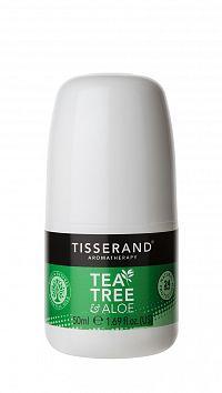 Tisserand Tea Tree & Aloe Vera kuličkový deodorant, 50 ml