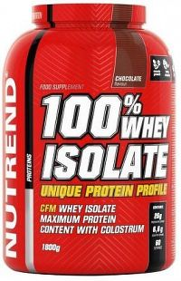 100% WHEY ISOLATE 1800 g čokoláda