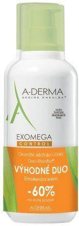 A-DERMA Exomega CONTROL Emolienční krém 400ml DUO