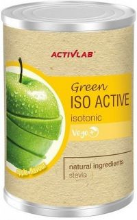 ActivLab Green Iso Active izotonický nápoj jablko 475g