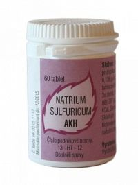 AKH Natrium sulfuricum por.tbl. 60