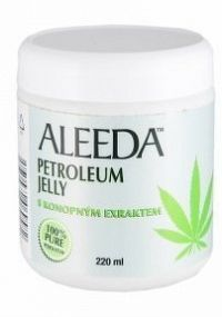 Aléeda Petrolatum Jelly s konopným olejem 220ml