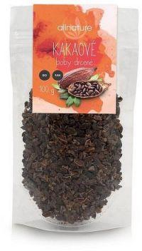 Allnature drcené kakaové boby BIO RAW 100 g