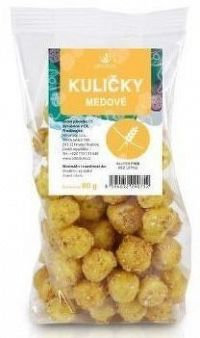 Allnature Kuličky medové 80 g