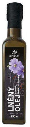 Allnature Lněný olej 250 ml