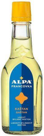 Alpa francovka kaštan 60ml