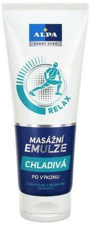 Alpa masážní emulze chladivá s mentolem 210ml