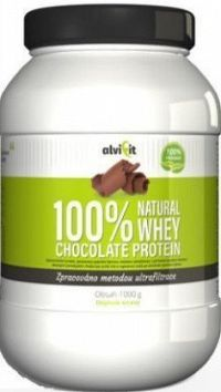 ALVIFIT 100% Natural WHEY Chocolate Protein 1000g
